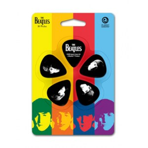 PLANET WAVES Meet The Beatles Guitar Picks Gitarren-Picks (10Stück) medium