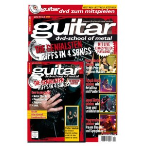 PPVMEDIEN guitar Songbook DVD V.2: School of Metal 32 Seiten Notenheft mit 75 min Video