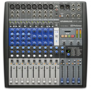 PRESONUS StudioLive AR12 USB Analoges Mischpult mit USB-Audiointerface