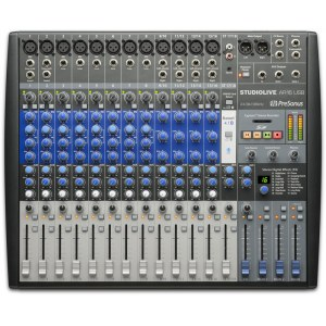 PRESONUS StudioLive AR16 USB Analoges Mischpult mit USB-Audiointerface