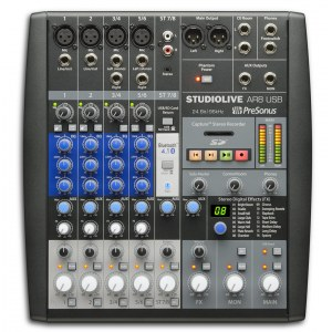 PRESONUS StudioLive AR8 USB Analoges Mischpult mit USB-Audiointerface