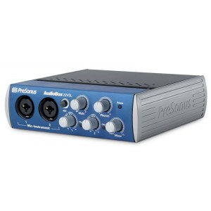 PRESONUS AudioBox 22 VSL USB Audio-Interface inkl. Softwarebundle