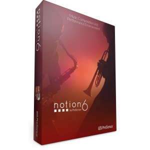 PRESONUS Notion 6 (Downloadversion) Notationssoftware