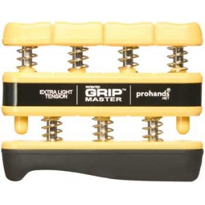 PROHANDS Gripmaster Yellow X-Light Fingertrainer