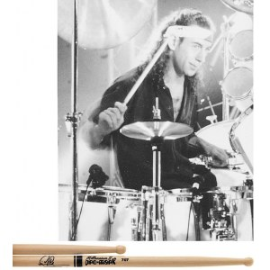 PROMARK TX707W Simon Phillips Wood Tip (Paar) Autograph Collection Drumsticks