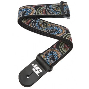PLANET WAVES 50JS04 Snakes Mosaic Satriani Gewebe-Gitarrengurt (50mm)