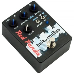 RED PANDA Bitmap Distortion Effektpedal