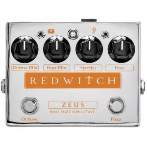 RED WITCH Zeus Bass Fuzz Suboctave Effektpedal