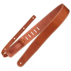 RICHTER Raw II Contour Torro Tan Leder Gitarrengurt (60mm)