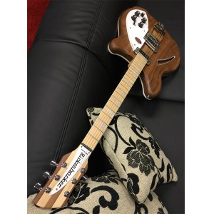 RICKENBACKER 360 W Deluxe Thinline Hollowbody E-Gitarre inkl. Koffer, walnut satin