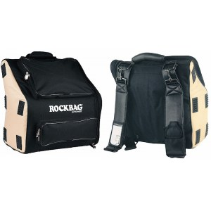 ROCKBAG RB-25140 B/BE Gigbag für Akkordeon 37/96, black/beige