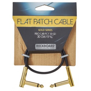 ROCKBOARD CAB PC F 30 GD Gold Series Flat Patch Cable 30 cm (11 13/16Zoll)