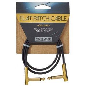 ROCKBOARD CAB PC F 60 GD Gold Series Flat Patch Cable 60 cm (23 5/8Zoll)