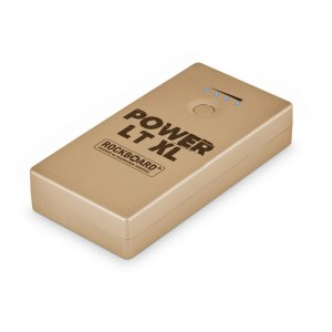 ROCKBOARD Power LT XL GD Mobile Stromversorgung Handy/Effekte 2000mA, gold