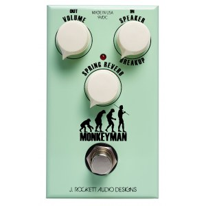 ROCKETT Monkeyman Tweed Verb Effektpedal