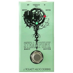 ROCKETT Steampunk Boost/Buffer Effektpedal