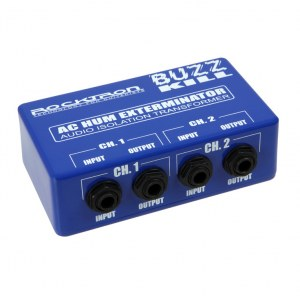 ROCKTRON Buzz Kill Audio Isolation Transformer Effektpedal (Brummkiller)