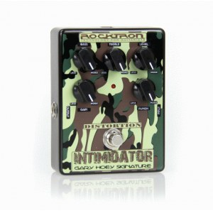 ROCKTRON Intimidator Gary Hoey Sign. Distortion Effektpedal