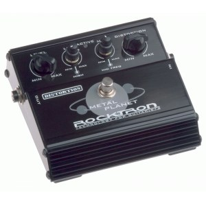 ROCKTRON Metal Planet Distortion Effektpedal Heavy Metal Distortion at its best ! Dieses Pedal