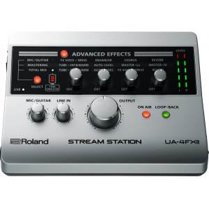 ROLAND UA-4FX2 Stream Station USB Audio-Interface