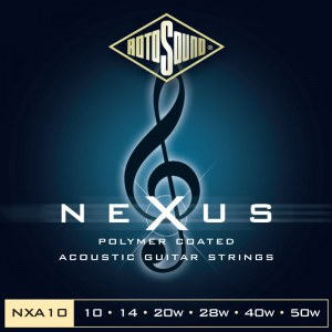 ROTOSOUND NXA-10 Nexus Extra Light 010-050 Phosphor Bronze Coated. Saiten für Akustik-Gitarre