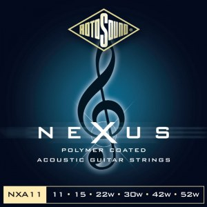 ROTOSOUND NXA-11 Nexus Light 011-052 Phosphor Bronze Coated. Saiten für Akustik-Gitarre