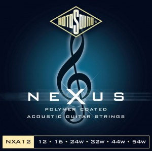 ROTOSOUND NXA-12 Nexus Medium Light 012-054 Phosphor Bronze Coated. Saiten für Akustik-Gitarre