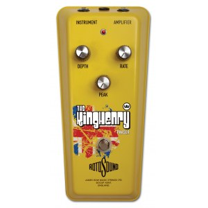 ROTOSOUND RKH-1 The King Henry Phaser // DE Effektpedal (Yellow), Made in England