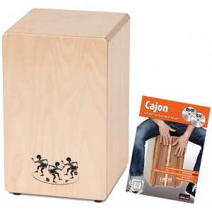 S2R CAJ1-B1 First Beat Cajon Bundle inkl. Lehrgang (Made in GERMANY)