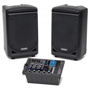 SAMSON XP300B Expedition Portable PA-System 300Watt