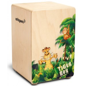 SCHLAGWERK CP400 Tiger Box Junior Cajon, natur