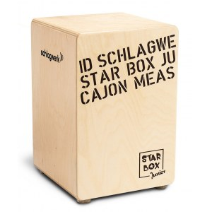 SCHLAGWERK CP400 SB Star Box Junior Cajon, natur