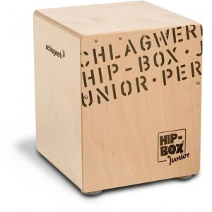 SCHLAGWERK CP401 Hip-Box Junior Cajon, natur