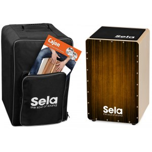 SELA SE 061 Varios Brown Cajon Bundle Alles für einen idealen Start in die Cajonwelt!