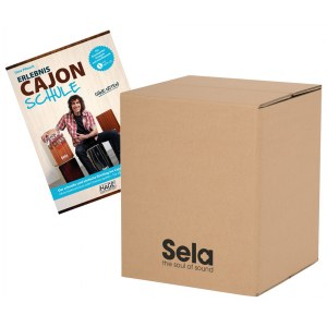 SELA SE 111 Carton Cajon Mini + Cajon Schule/MP3CD (SE 088 + EH 3830) Starter Pack