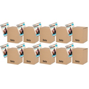 SELA SE 115 Carton Cajon Mini + Cajon Schule/MP3CD (10x SE 088 + 10x EH 3830) Starter Pack