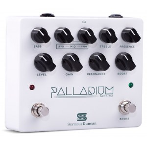 SEYMOUR DUNCAN Palladium Gain Stage WH Overdrive Effektpedal, weiss