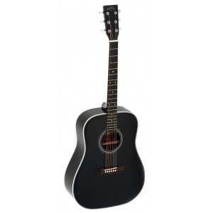 SIGMA GUITARS DM-1ST-BK+ Dreadnought Akustik-Gitarre, black