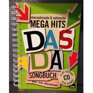 SKV Das Da Songbuch inkl. Play Alongs /CD, Kessler Internationale und nationale Mega Hits