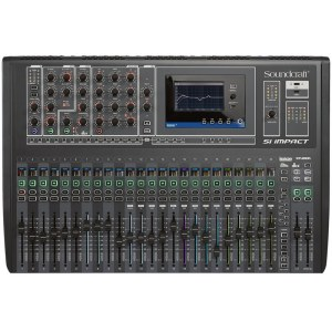 SOUNDCRAFT Si Impact Digital-Mischpult (Tablet-Steuerung, Rec.-Interf.)