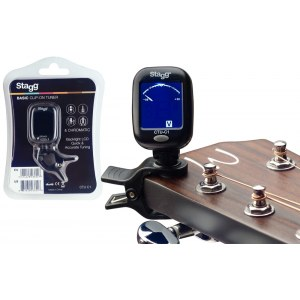 STAGG CTU-C1 Clip Tuner Chromatic Clip-on Stimmgerät