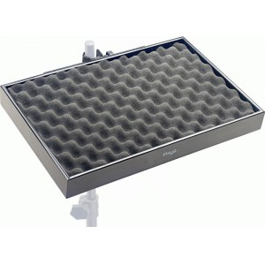 STAGG PCTR-4530 BK Percussion Tray Percussionablage 45x30x5cm