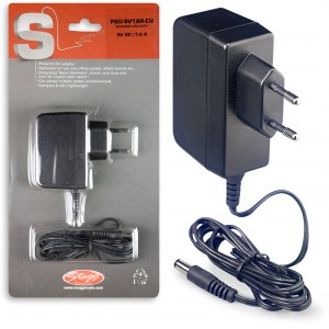 STAGG PSU-9V1AR-EU Power Adapter 9VDC/1000mA Netzteil