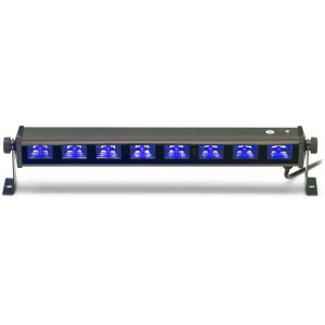 STAGG SLE-UV83-2 UV LED-Bar Lichtleiste 8x3-Watt, 45 cm