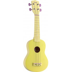 STAGG US-LEMON Sopran Akustik-Ukulele inkl. Tasche, yellow