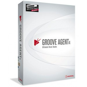 STEINBERG Groove Agent 4 EDU Drum Studio Softwareinstrument Win/Mac (Schulversion)