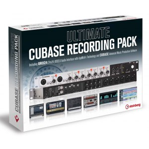 STEINBERG Ultimate Cubase Recording Pack Audio-Interface UR-824 inkl. Cubase Pro 8