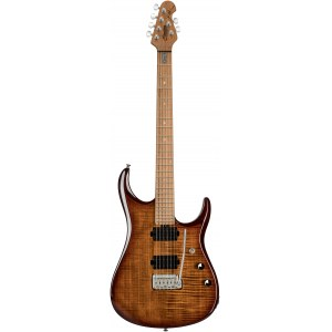 STERLING by Music Man JP150FMILB John Petrucci 6-Saiter E-Gitarre, flame maple island burst