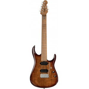 STERLING by Music Man JP157FMILB John Petrucci 7-Saiter E-Gitarre, flame maple island burst