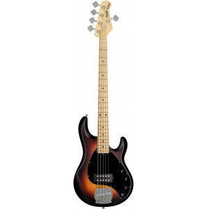STERLING by Music Man RAY5VSBSM1 5-Saiter E-Bass, vintage sunburst satin